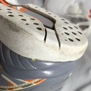 wholesale dealer f518b 58537 Jordan Shoes - Air Jordan 8 Retro White Orange Silver Stealth